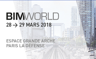Retrouvez-nous au BIM World le 29-30 mars – Paris La Défense