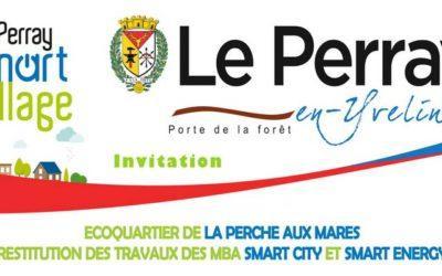 Restitution des étudiants MBA SmartCity Smart Energy sur le projet d'écoquartier du Perray en Yvelines